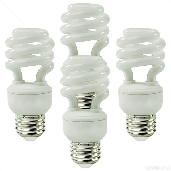 Spiral CFL -14 Watt - 60W Equal - 5000K Full Spectrum Image