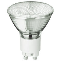 20 Watt - MR16 Narrow Flood - Pulse Start - Metal Halide - Protected Arc Tube - 3000K - ANSI M102/E - GX10 Base - Universal Burn - 20W/830 GX10 MR16 25D - Philips 421669