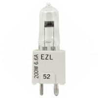 EZL - Airfield Lamp - T4 - 200 Watt - 6.6 Volt - GZ9.5 Base - 3100K