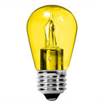 2 Watt - Dimmable LED - S14 - Yellow Image