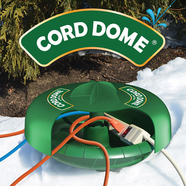 Twist and Seal Cord Dome - 14 in. Dia. Power Cord and Power Strip Protector Image