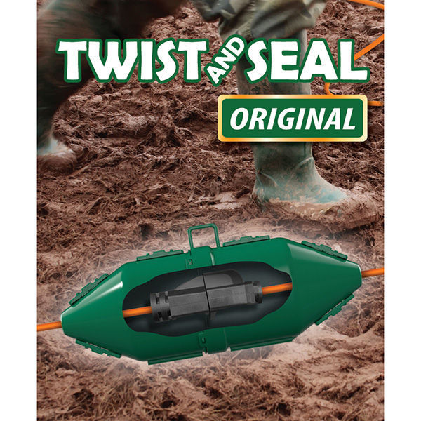 Twist and Seal Original - 7 x 3 in. Cord and Plug Protector Image