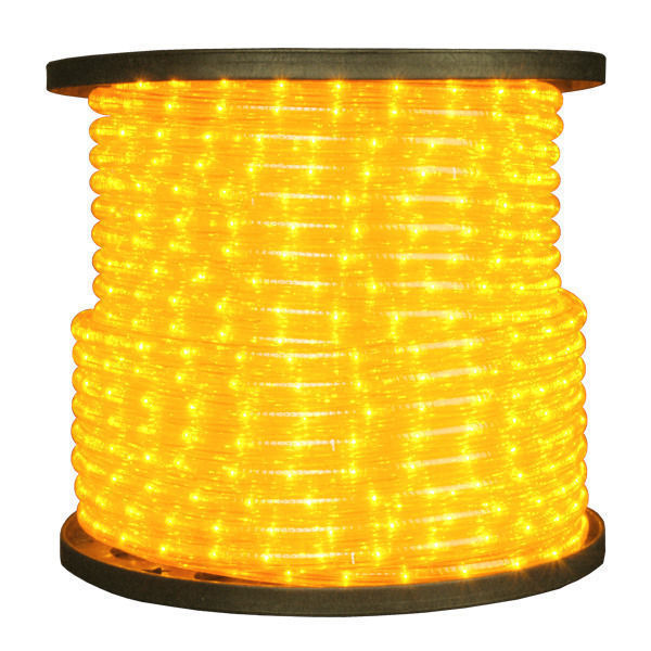 38 in yellow rope light signature 10mm ye 150 incandescent yellow rope light aloadofball Choice Image