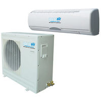 Ideal Air 700505 - Mini Split Heat Pump and Air Conditioner - 15 SEER - 24,000 BTU - 2100 Watts -  230 Volts - 10 Amps