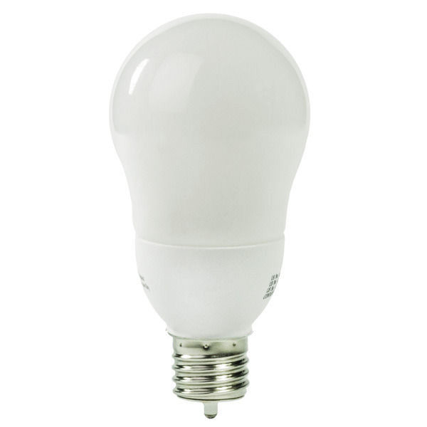A-Shape CCFL - 8 Watt - 45W Equal - 2250K Warm White Image