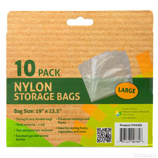 Nylon Storage Bags - 10 Pack Image