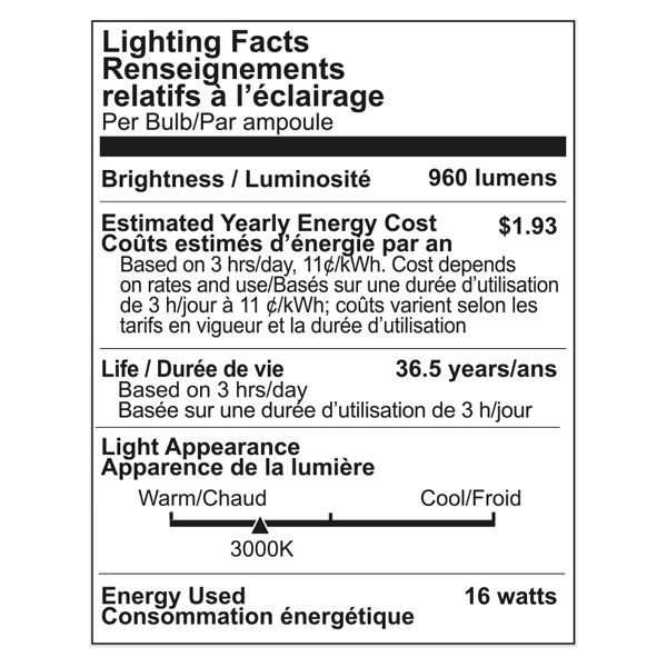 LED - PAR38 - 16 Watt - 960 Lumens Image