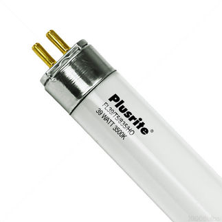 FL39/T5/835/HO - 3 ft. - 39 Watt - T5 High Output - 3500K - Plusrite F39T5 T5 Linear Fluorescent Tube Mini Bi-Pin Base