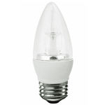 LED - 5 Watt - Clear Straight Tip Torpedo - 40 Watt Equal Image