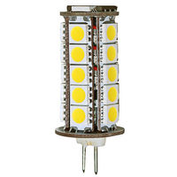 30W Halogen Equal - Bi-Pin Bulb - 360 Degree Beam Angle - 12 Volt DC Only -  50,000 Life Hours - PLT G4-36SMD5050-30K