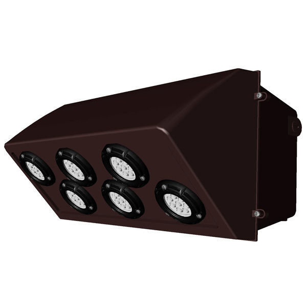 LED Wall Pack - 75 Watt - 8070 Lumens Image