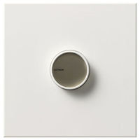 White - 1500 Watt Max. - Incandescent Dimmer - Single Pole - On/Off Rotary Switch - 120 Volt - Lutron Centurion C-1500-WH