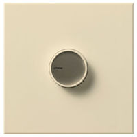 Beige - 2000 Watt Max. - Incandescent Dimmer - Single Pole - On/Off Rotary Switch - 120 Volt - Lutron Centurion C-2000-BE