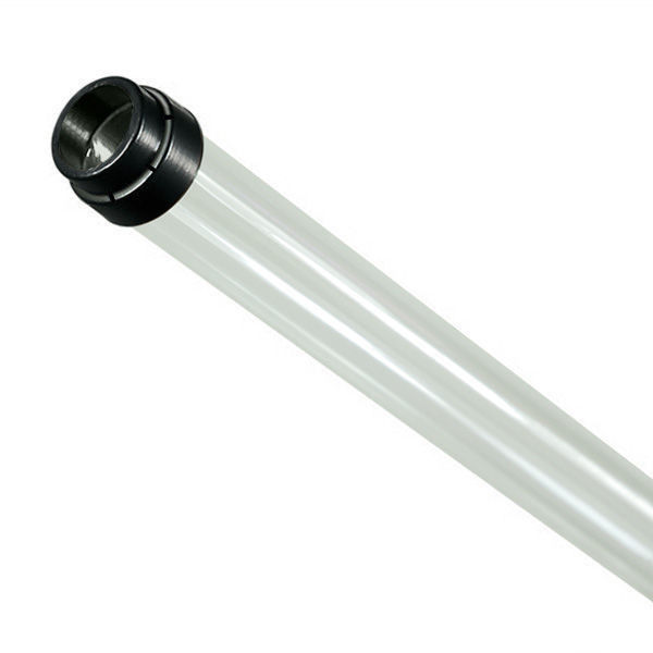 F54T5/HO - Clear - Fluorescent Tube Guard with Vented End Caps Image