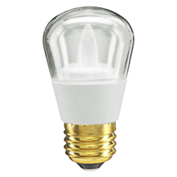 GE 65538 - 2.4 Watt - LED - S14 - Clear Image