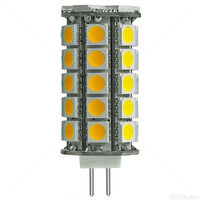 35W Halogen Equal - Bi-Pin Bulb - 360 Degree Beam Angle - 12 Volt DC Only - 50,000 Life Hours - PLT-G4-41SMD5050-30K