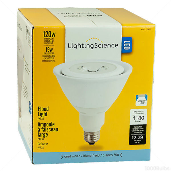 Lighting Science LS38120WECWNFL120 - Dimmable LED - 19 Watt - PAR38 Image