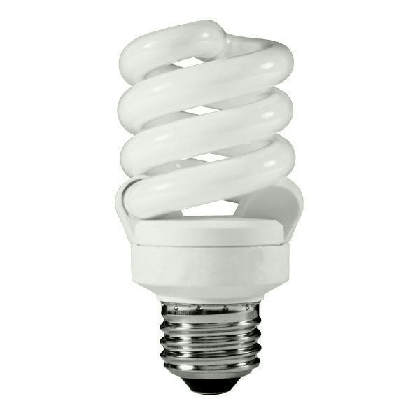 13 Watt CFL - 3500K Halogen White Image