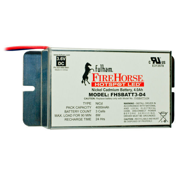 Fulham FHSKITT08LHD - LED Emergency Backup Lighting Kit Image
