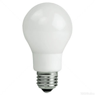 7 Watt - LED A19 - 40 Watt Equal - 3000K Halogen White