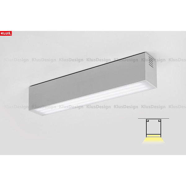 3.28 ft. Anodized Aluminum INTER Ceiling Channel Image