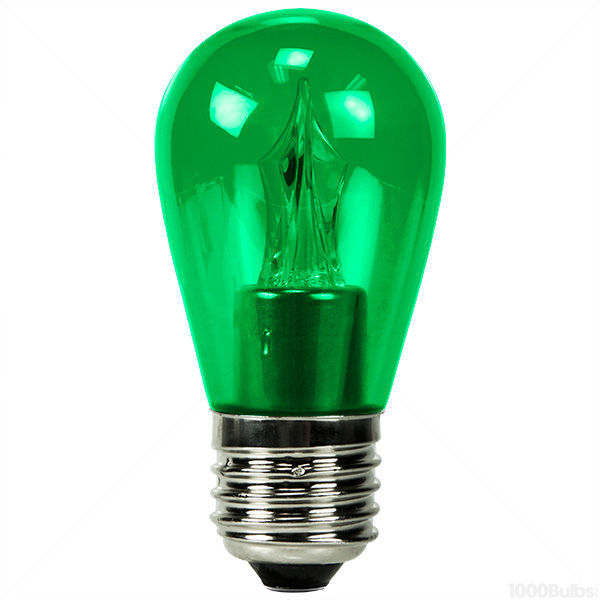 2 Watt - Dimmable LED - S14 - Green Image