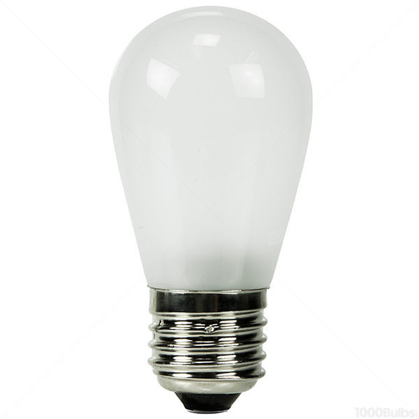 2 Watt - Dimmable LED - S14 - Frosted - 2700K - Warm White Image