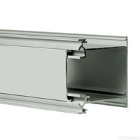6.56 ft. Anodized Aluminum IDOL Channel - For LED Tape Light and Strip Light - Klus 18014L
