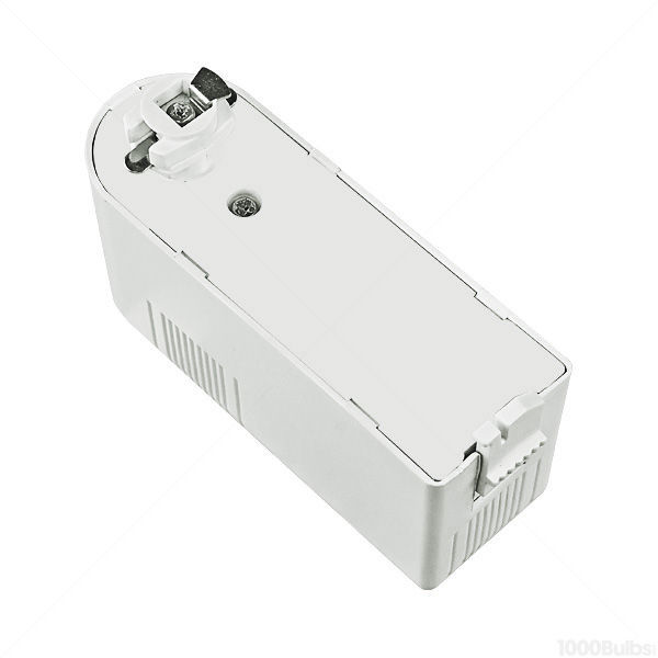 Nora NTL-202/75W - Cube Low Voltage Track Fixture - White Image