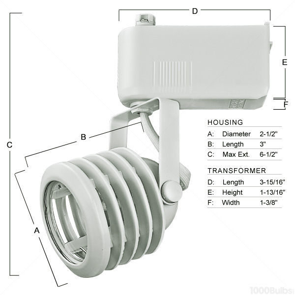 Nora NTL-212/75N - Multi-Stepped Low Voltage Track Fixture - Natural Metal Image