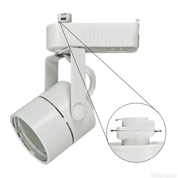 Plt Ptl203w Cylinder Low Voltage Track Fixture White Image