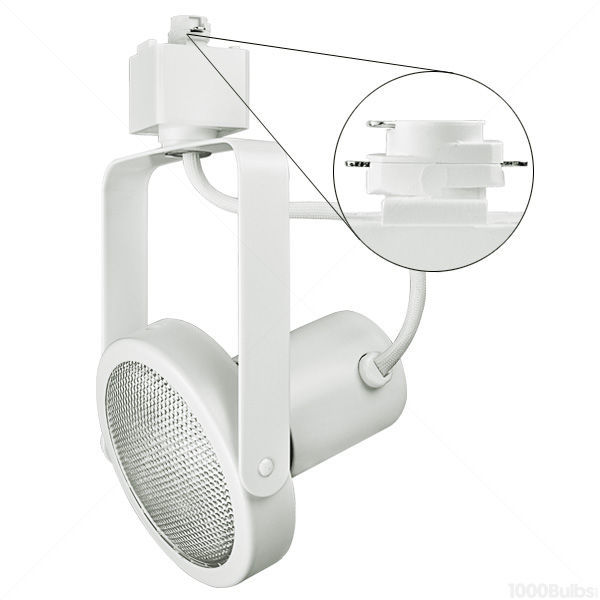 Nora NTH-107W - Gimbal Ring Track Fixture - White Image