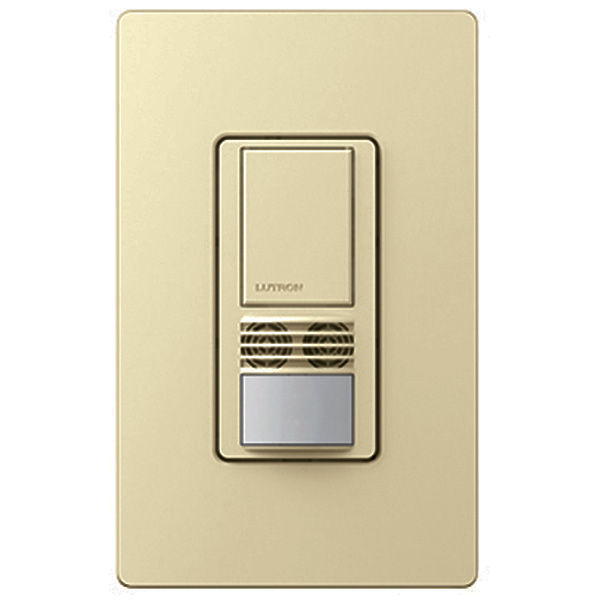 Lutron Maestro - PIR/Ultrasonic Occupancy/Vacancy Sensor - Almond Image