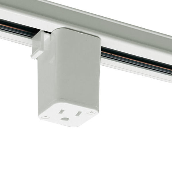 Nora NT-327W - White - Outlet Adapter Image