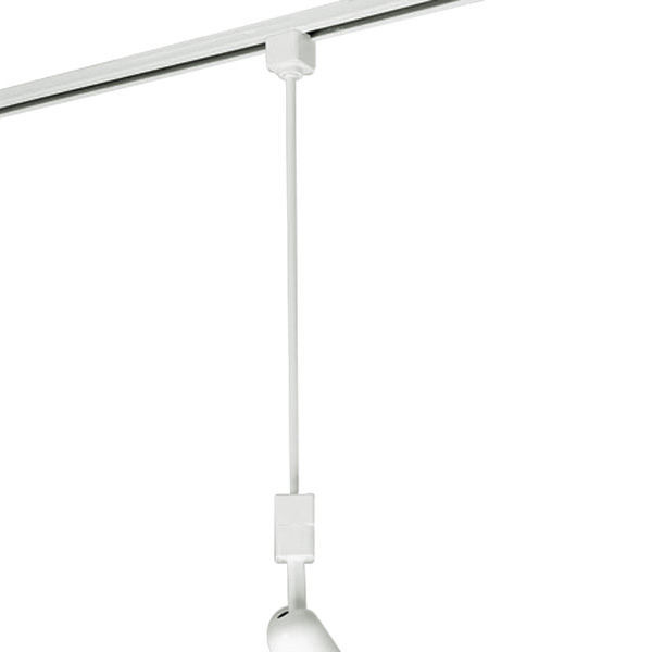 Nora nt 324w 36 in extension rod halo track compatible nora nt 324w white image aloadofball Gallery