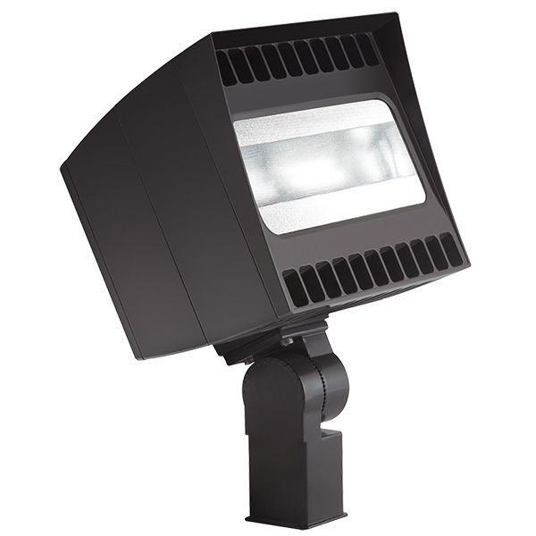 78 Watt - 250W Equal - LED Canvas Floodlight with 120V Button Photocell Image