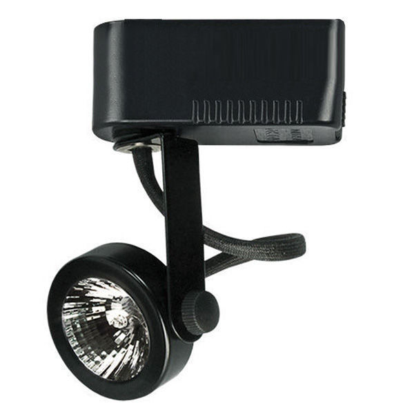 Nora NTLE-207B - Versa Gimbal Ring Low Voltage Track Fixture - Black Image