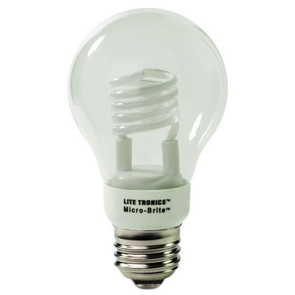 A-Shape CFL - 3 Watt - 20W Equal - 2700K Warm White Image