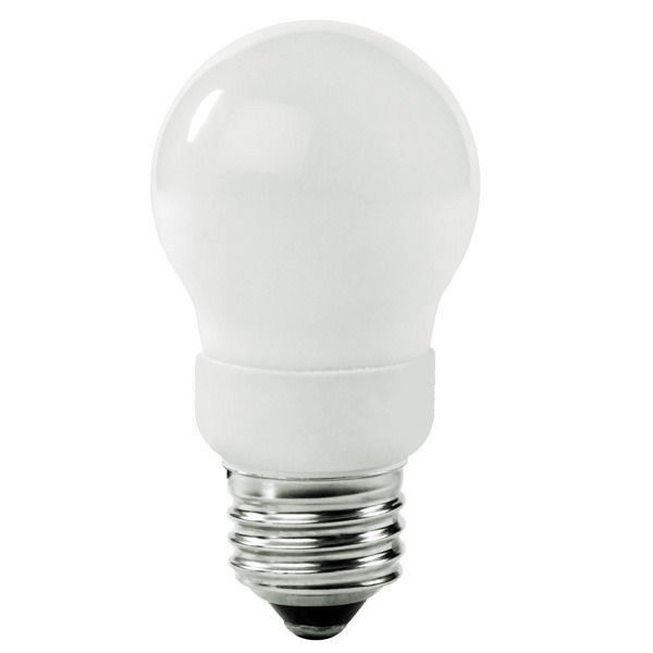 A-Shape CFL - 9 Watt - 40W Equal - 3500K Halogen White Image