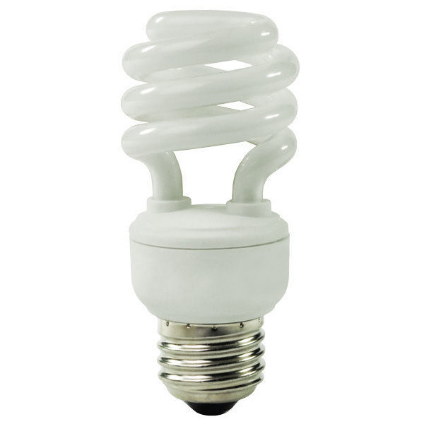 T2 Spiral CFL - 18 Watt - 75W Equal - 4100K Cool White Image