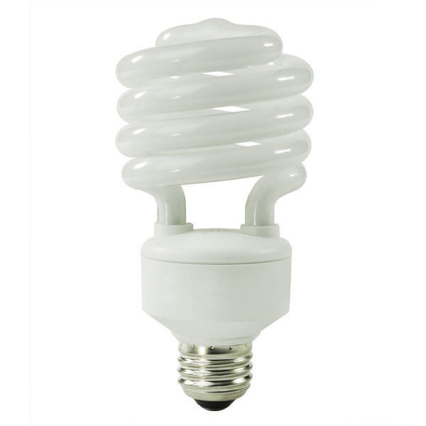 Spiral CFL - 30 Watt - 120W Equal - 6500K Full Spectrum Daylight Daylight Image