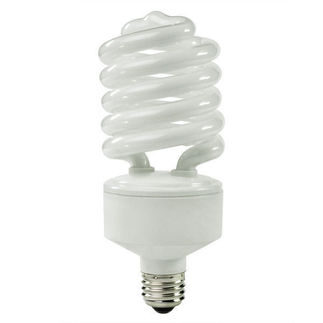 42 Watt - 150 W Equal - Cool White 4100K - CFL Light Bulb - TCP 28942277-41K Screw In CFL