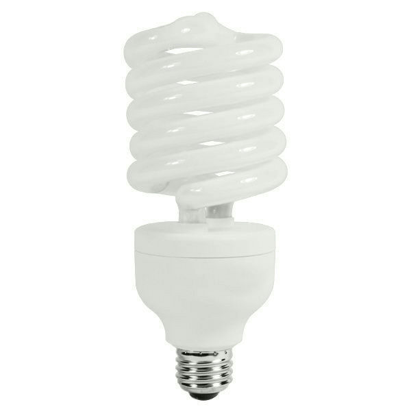 Spiral CFL - 105 Watt -  500W Equal - 4100K Cool White Image