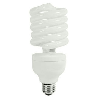 105 Watt - CFL - 250 W Equal - Cool White - 80 CRI