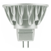 LED MR16 - 6 Watt - 375 Lumens - 40W Equal - 3000 Kelvin - 25 Deg. Narrow Flood - CRI 80 - Dimmable - 12V - GU5.3 Base