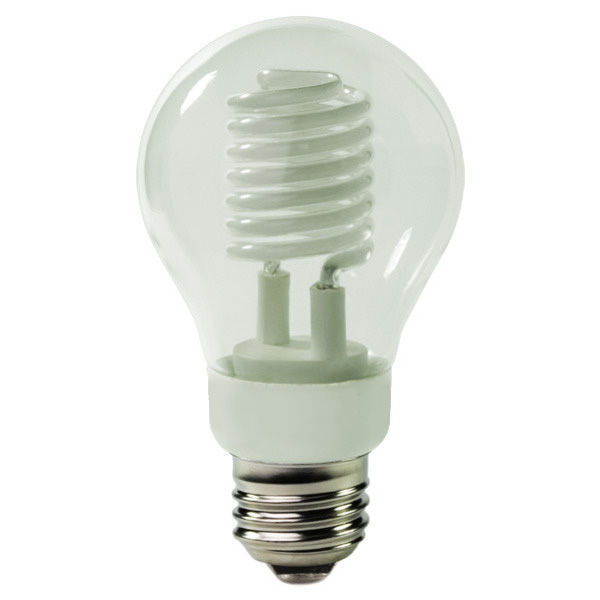 A-Shape CCFL - 5 Watt - 30W Equal - 2250K Warm White Image
