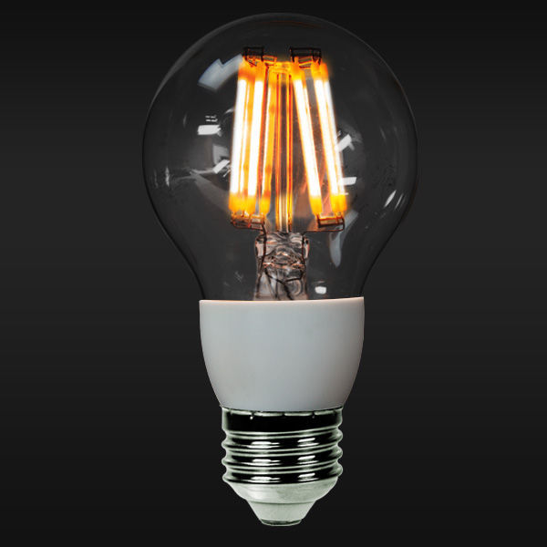 LED Filament - 4 Watt - Standard Shape Bulb - Warm White Image
