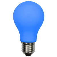 LED A19 Party Bulb - Blue - 1 Watt - 10W Equal - 120 Volt - PLT LED-A19BLUE
