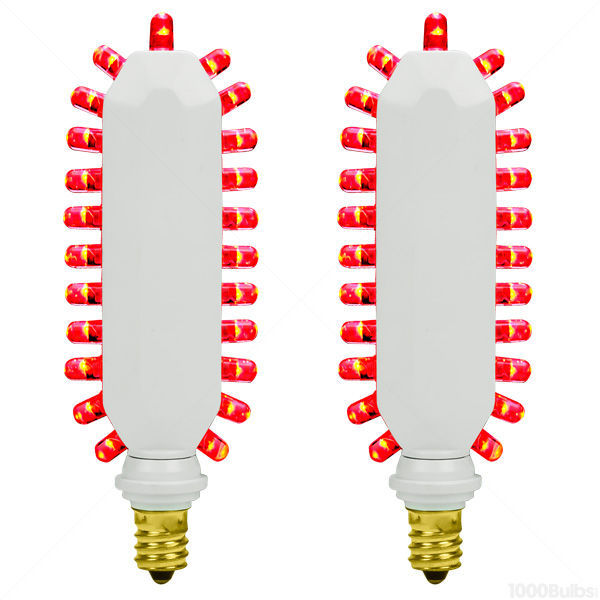 Exitronix RT2-A-S-B - (Set of 2) - Red LED - Exit Sign Retrofit Bulbs Image