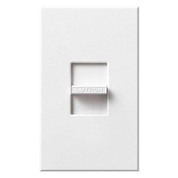 Lutron Nova T NTELV-600-WH - 600 Watt Max. - Electronic Low Voltage Dimmer Image